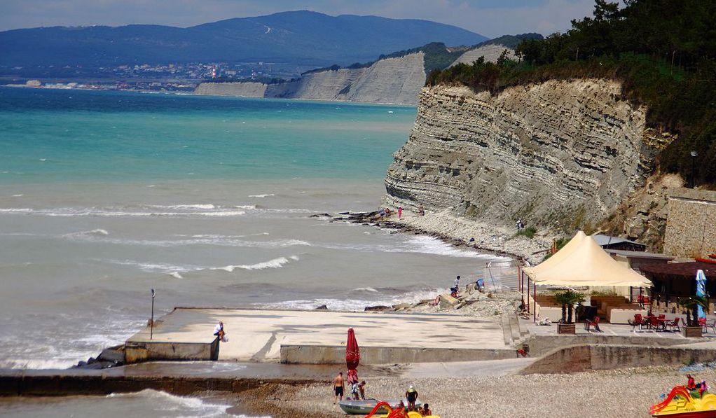 Пляж Дивноморска