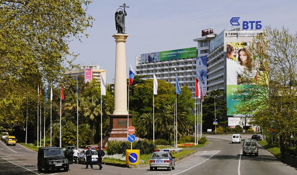 Веб-камера на Курортном проспекте Сочи